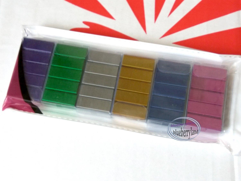 POP Bazic Metallic Color Staples No.10/6BM Pink Gold Blue Green Silver Purple staples