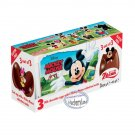 Zaini Disney Mickey Mouse Chocolate Surprise 3 Eggs With Toy Figure Inside choco ladies kid N18