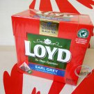 Loyd Earl Grey Flavoured Black Tea 20 Tea Bags