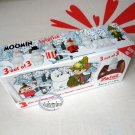 Zaini Moomin Chocolate Surprise 3 Eggs With Toy Figure Inside choco ladies kid N18