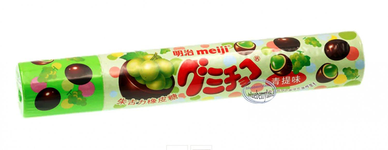 Meiji Grape GUMMI CHOCOLATE CANDY snack sweets gummy candies snacks