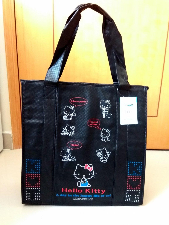 Sanrio Hello Kitty Large Cooler BAG School Lunchbox Food Container HANDBAG Picnic