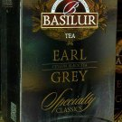 Basilur Specialty Classics Earl Grey Ceylon Black Tea 20 Tea Bags teabags