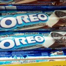 Oreo Cookies Dark & White Chocolate flavor Sandwich cookie Biscuit 2 rolls packs