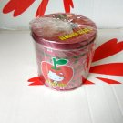 Sanrio HELLO KITTY Round Metal Tissue Paper Holder cat bedroom home