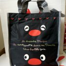 Pingu Back To School Lunchbox Bag Tote BAG Purse Handbag Black