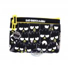 Sanrio Bad Badtz-Maru XO Zipper Pouch bag 2 zipper slip bags case ladies girls