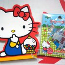 Sanrio HELLO KITTY Notepad & Stickers & Mini Doll set gift set