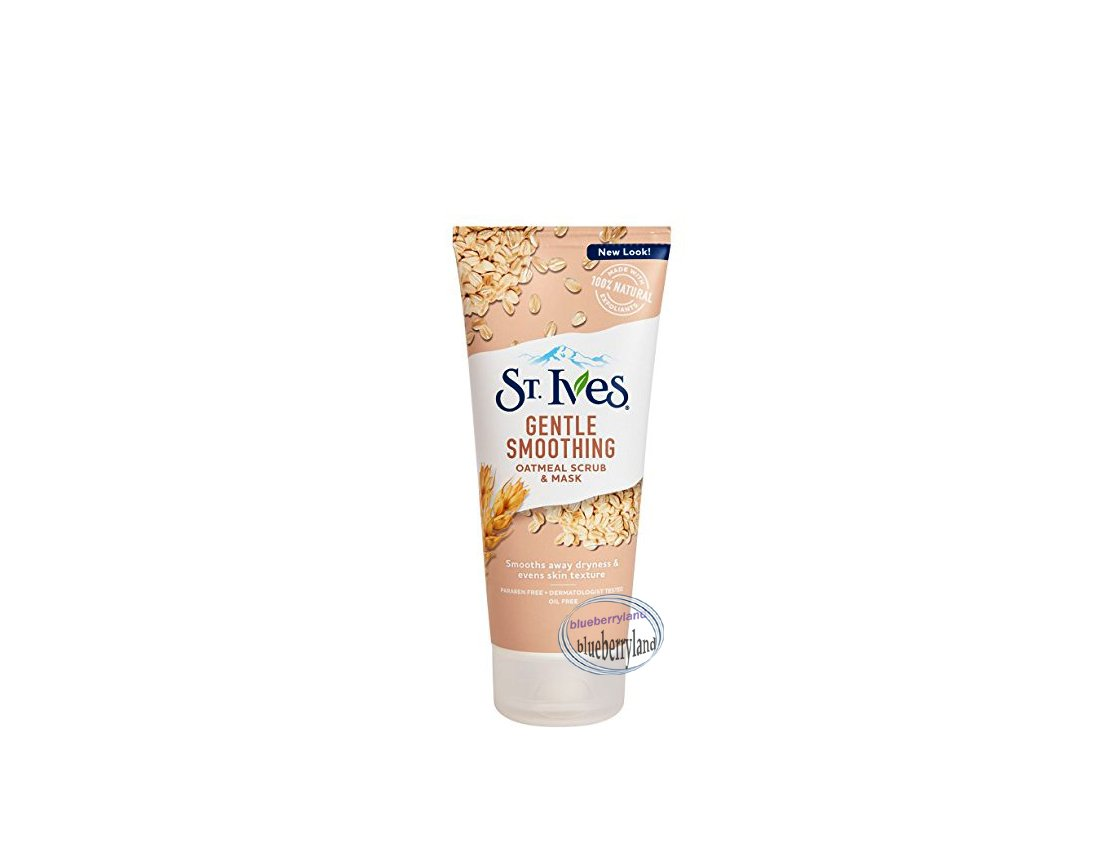 St.Ives Naturally Gentle Smoothing Oatmeal Scrub & Mask 6oz / 170g ladies skin care beauty