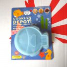 Japan Pearl Cooking Depot silicone mold fish Blue