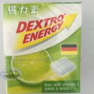 Dextro Energy Lime flavor Dextrose Candy with Vitamin C sweet candies