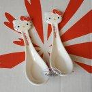 Sanrio Hello Kitty Chinese style Soup Spoon set 2 pcs Spoon Dinnerware