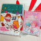 Sanrio Little Twin Stars Passport Holder cover & Multi-purpose Drawstring Bag  Girls gift set P18