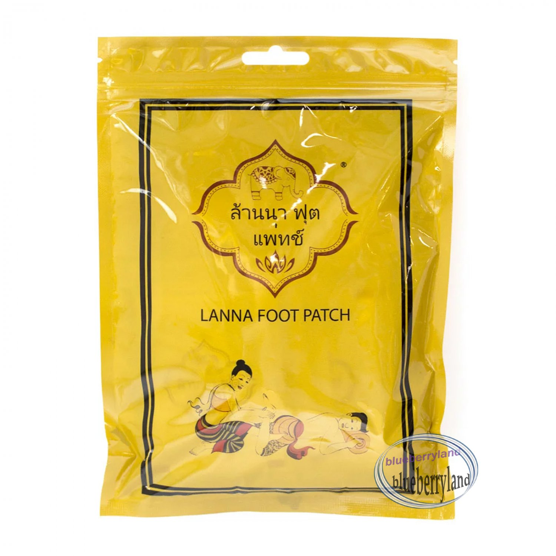 10 Pcs Lanna Foot Patch Natural Herbal Detox Alternative Remedies foot treatment beauty ladies