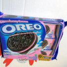 Oreo Strawberry cream flavor Sandwich cookie Biscuit packs cookies kids ladies school