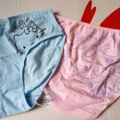 "2 Pcs Sanrio Hello Kitty Underwear Short Pant Set Size L Waist 28"" - 31"" panties for Women Girls"