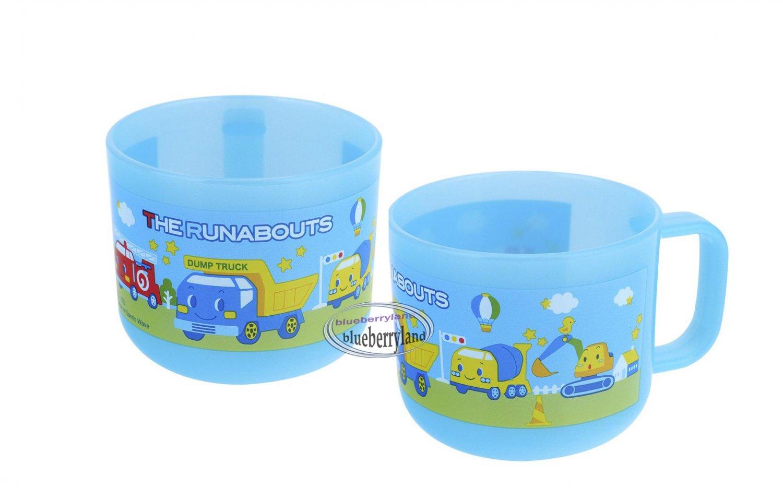 Sanrio Runabouts cars BPA free Plastic Cup with Handle & Lid kids child Mug P8