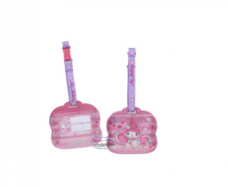 Sanrio My Melody Luggage Name Tag holder Travel school bag Tags Q8