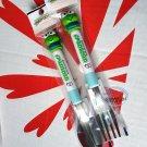 Japan Sanrio KEROKEROPPI Stainless Steel Spoon and Fork set Children Adult