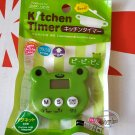 Japan import Frog Kitchen Timer home cooking baking ladies girls chef
