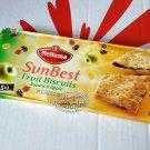 Hellema SunBest Fruit Biscuits Raisins & Apple cookie Biscuit packs cookies kids ladies school