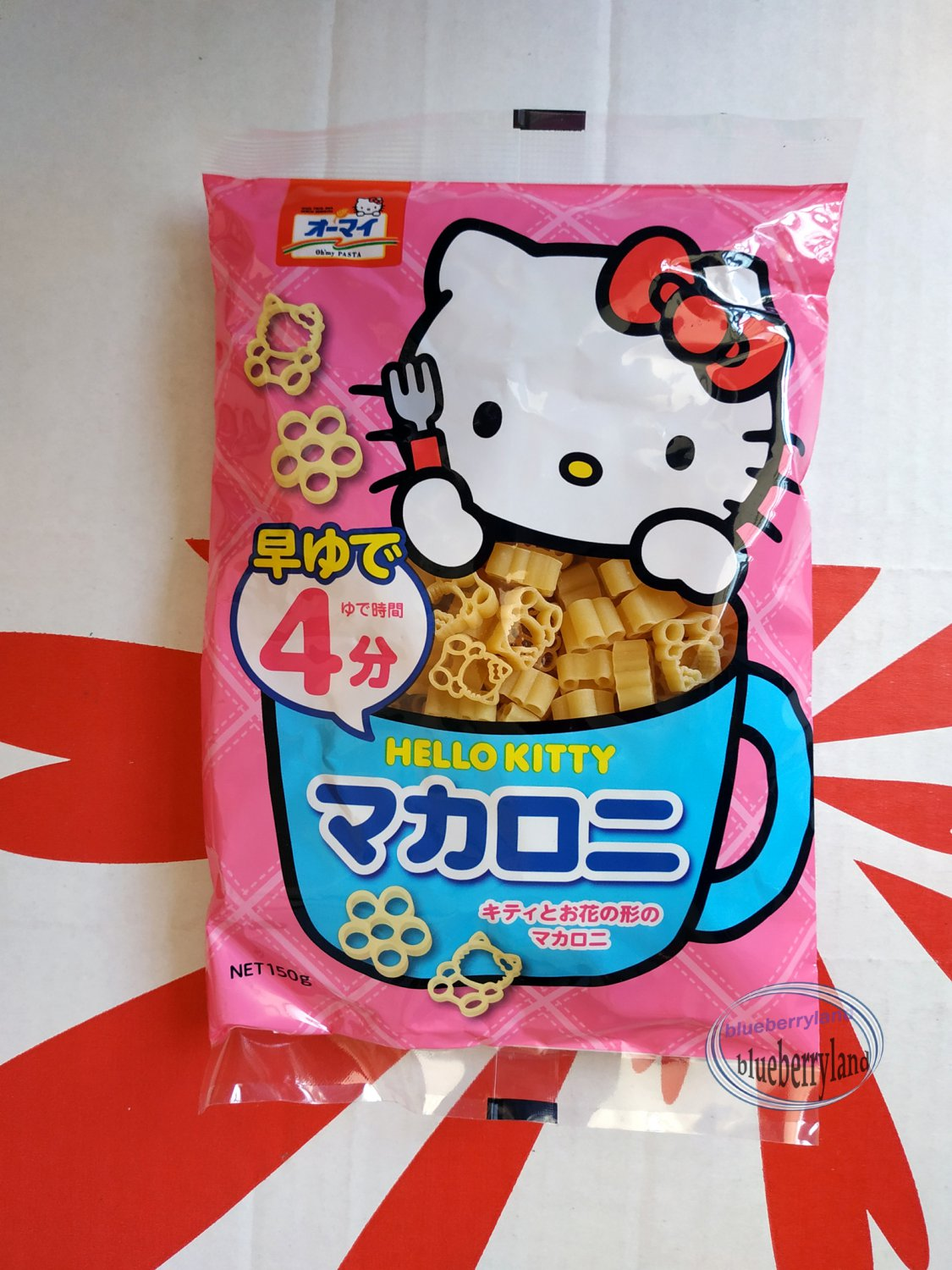 Japan Sanrio Hello Kitty shaped Pasta Macaroni noodle food home kitchen P