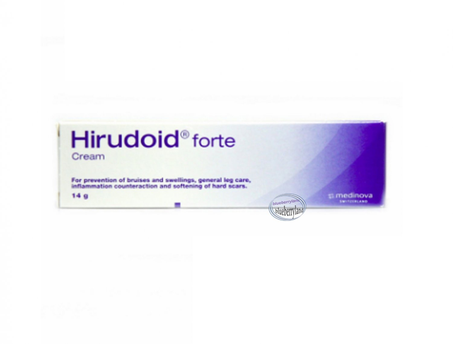 Hirudoid Forte Cream EXTRA STRENGTH for Scars Varicose Vein Bruises 14g