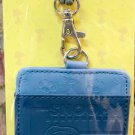 Peanut Snoopy Lanyard Tag School Work Pass ID tags Holder S18 Blue ladies men