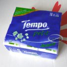 TEMPO Petit Pocket Tissue Paper 18 mini packs handkerchiefs Jasmine ladies outdoor