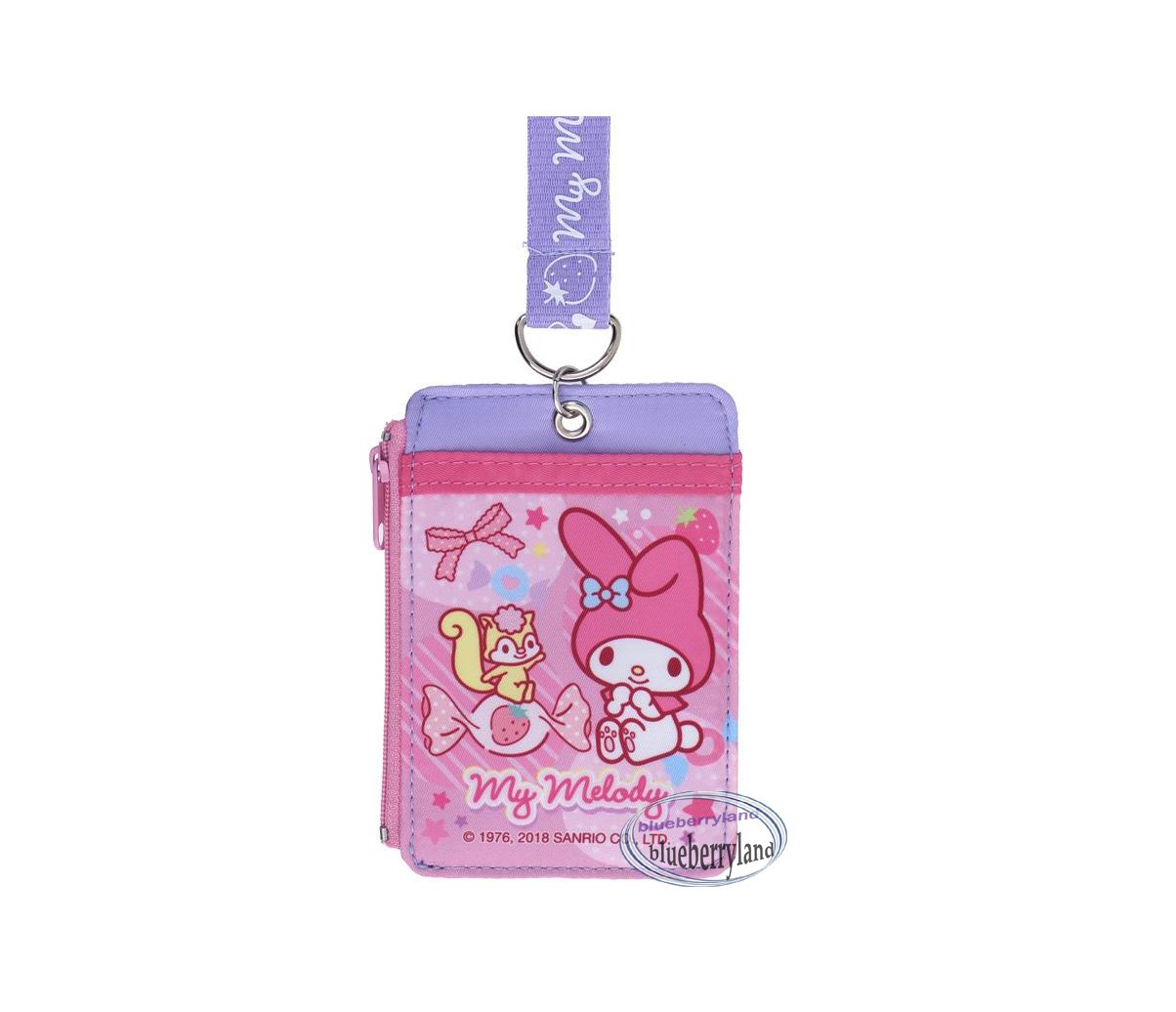 Sanrio My Melody Lanyard Tag School Work Pass ID tags Holder Girls Ladies  P18