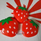 Strawberry shaped small boxes set snack side dish Box Food case ladies girls