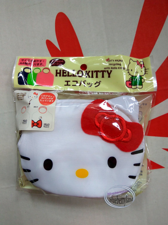 Sanrio Hello Kitty Shopping Eco Tote Bag handbag women ladies girls WTB