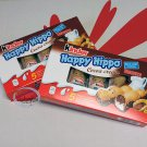 2 Boxes Ferrero Kinder Happy Hippo Cocoa Cream Chocolate Wafer Cookie Biscuit Pack sweet snack