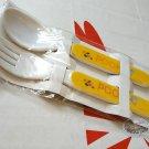 Disney Winnie the Pooh Frok & Spoon set home kitchen Cutlery kids child