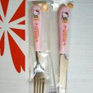 Sanrio Hello Kitty Fork & Knife sets Home dinning cutlery set