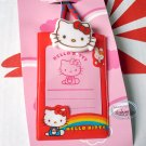 Sanrio Hello Kitty Card Holder ID Tag Lanyard School Work Pass ID tag girls kid