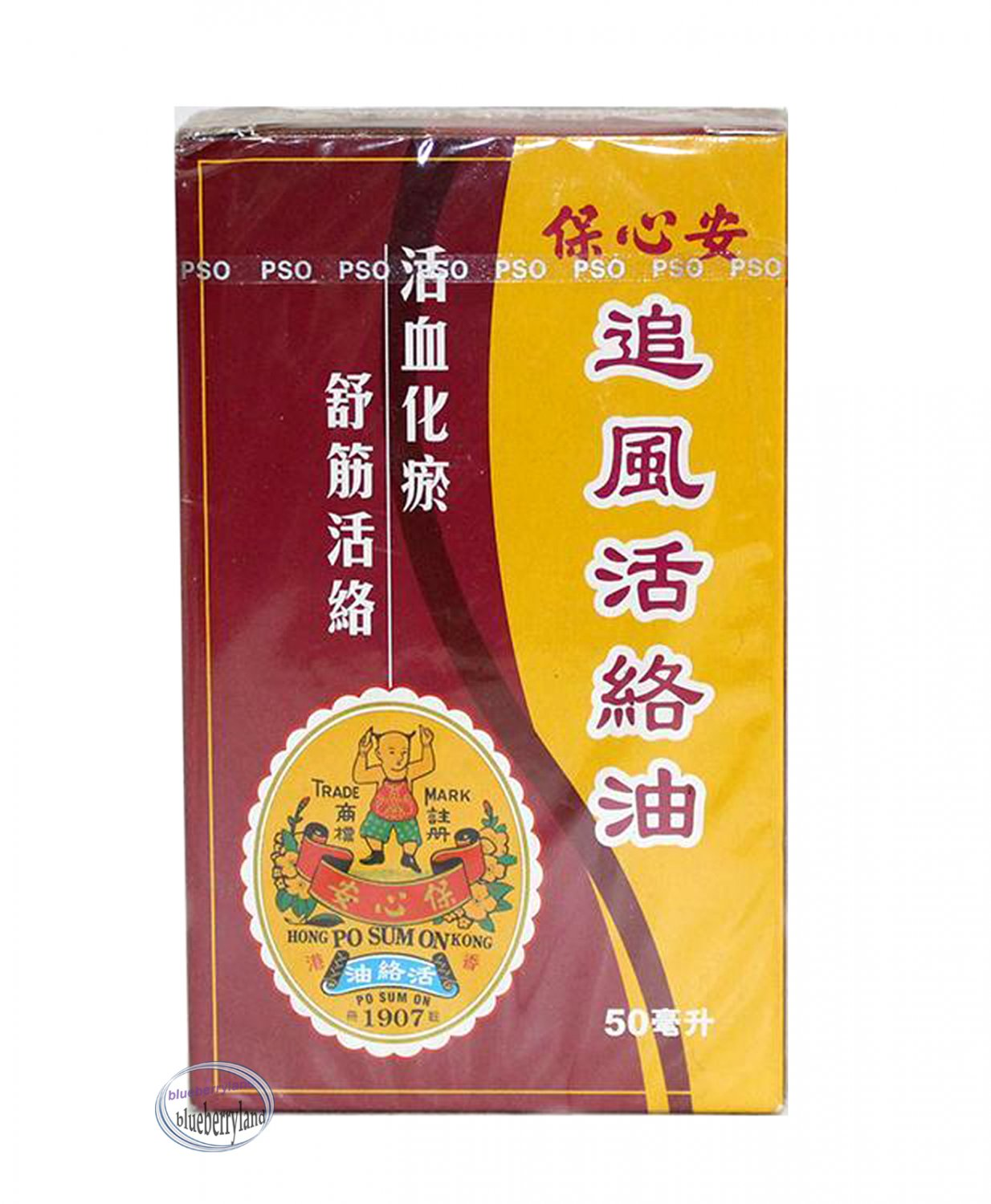 Po Sum On Zhui Feng Huo Luo Oil 50ml Medicated Pain Cure Oil ��� 追風活絡油