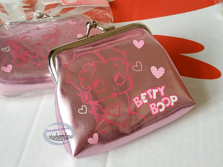 Betty Boop Kiss Lock Coin Bag Purse Bags ladies girls
