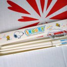 Snoopy Peanuts Chopsticks with matching case set Dining Cutlery lunch school office
