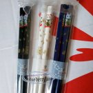 Japanese style Cats Pattern Chopsticks 3-pair set home cutlery kitchen