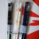 Japanese style Cats Pattern Chopsticks 3-pair set home cutlery kitchen