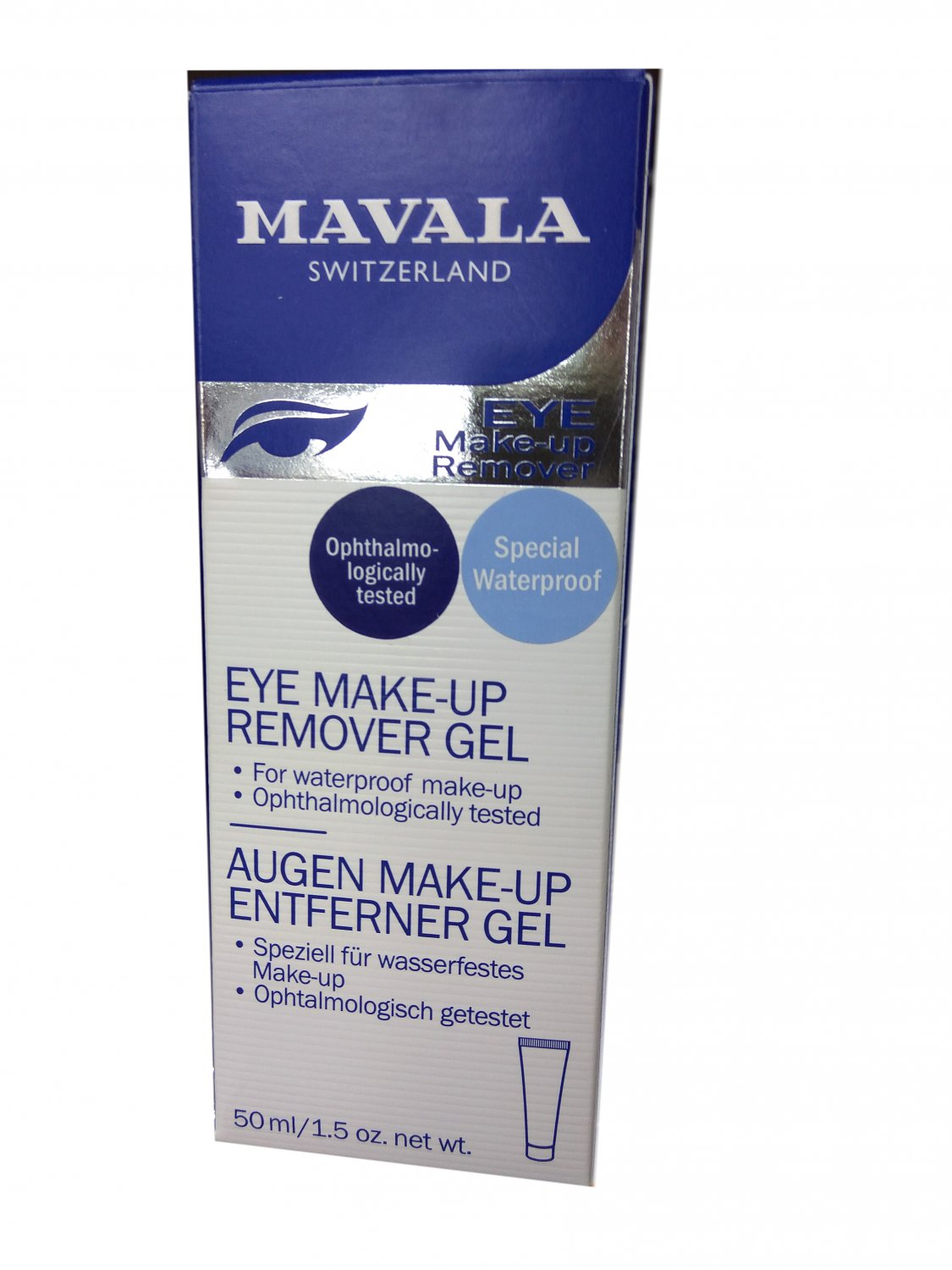 Mavala Eye Make-up Remover Gel 50ml Eye Care