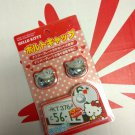 SEIWA Hello Kitty Number Bolt Cap 2 chrome-plated 2 pieces KT376 Car Accessory