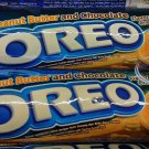 Oreo Cookies Peanut Butter & Chocolate flavor Sandwich cookie Biscuit 2 rolls packs