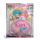 Sanrio Little Twin Stars baby in car safety sign child babies girls decals nursery