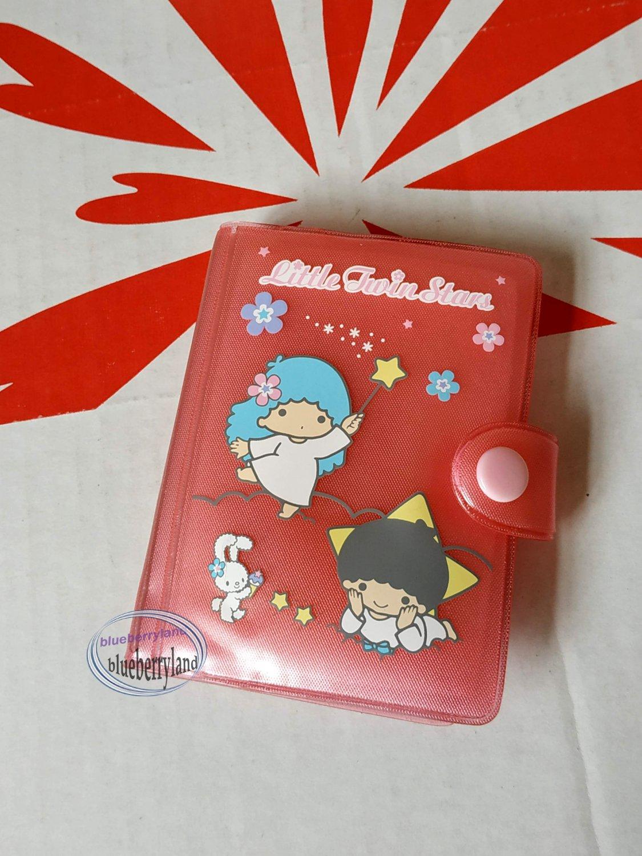 Sanrio Little Twin Stars ID Credit Card Organizer holder case bag ladies OV1