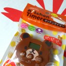 Japan import Bear Kitchen Timer home cooking baking ladies girls chef