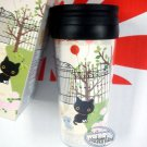 San-X KUTUSITA NYANKOQ CAT Tumbler Mug Drinkware Car Office Cup ladies cups