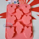 Disney MICKEY MOUSE SILICONE Mold Donald Duck Food Cake Mould jello pudding ice cube jelly chocolate