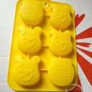 Disney Winnie the Pooh SILICONE Mold Food Cake Mould pudding jello chocolate ice cube jelly Japan